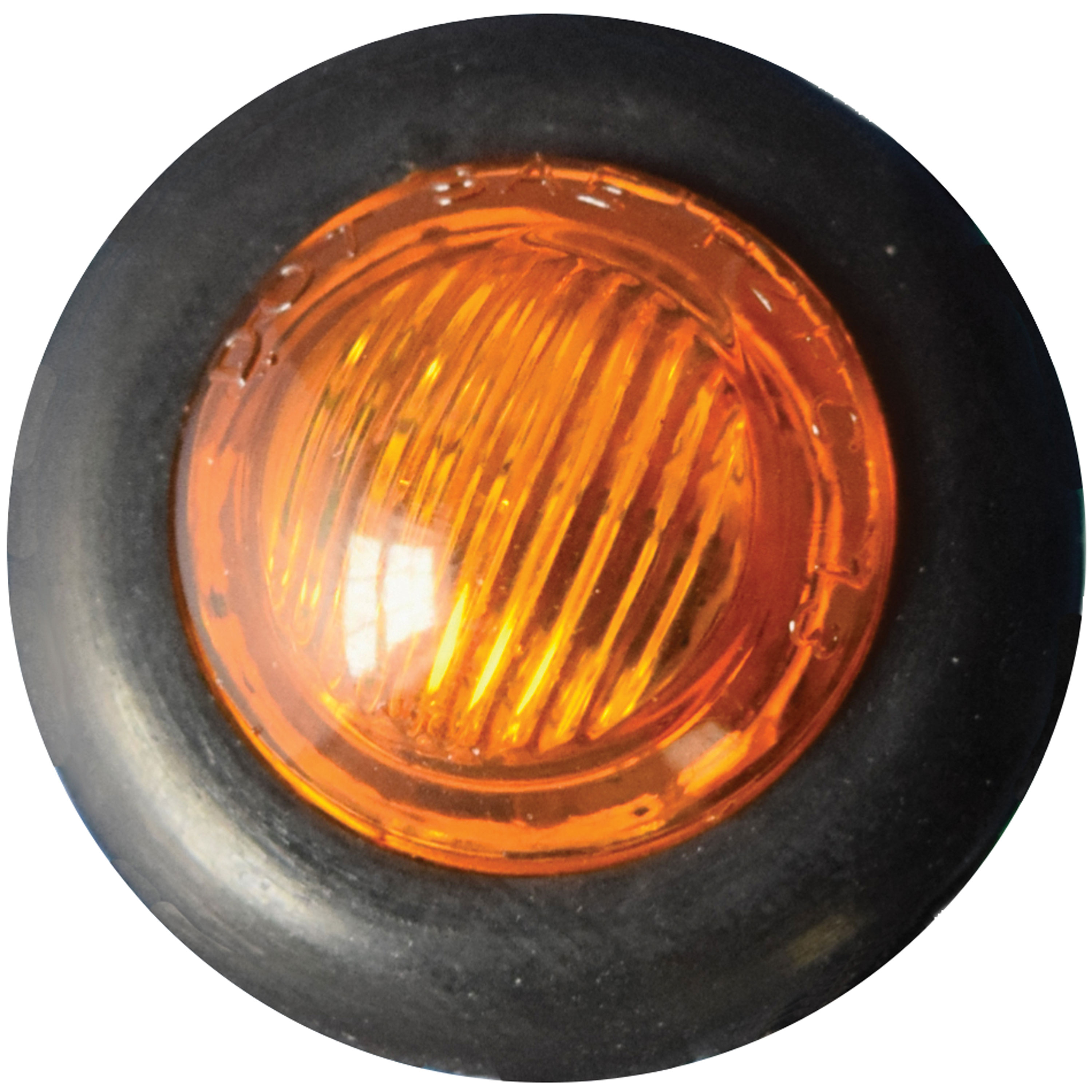 Fasteners Unlimited 003-183AA Bullet Led Light Amber W/