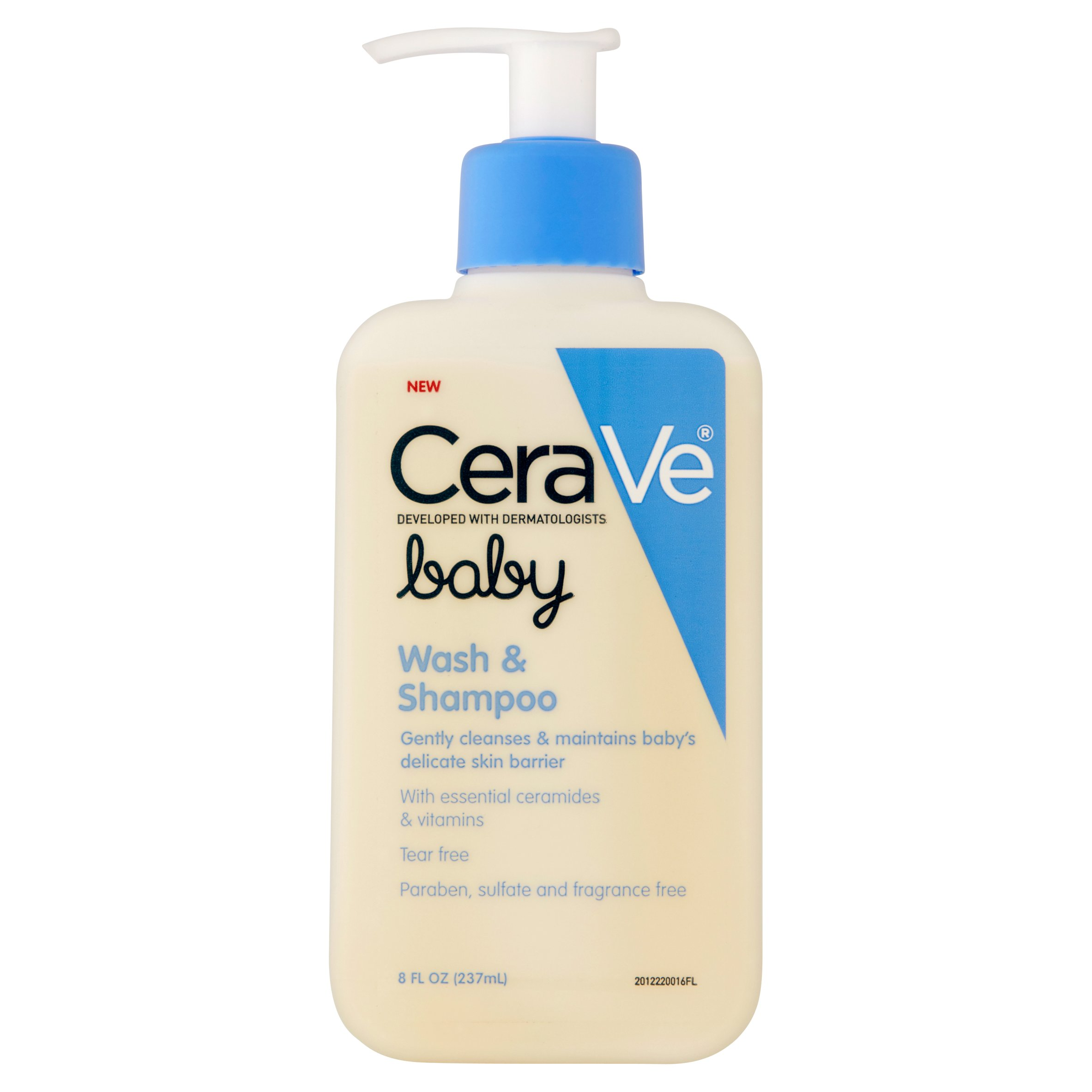 CeraVe Baby Wash and Shampoo, 8 oz by Valeant Pharmaceuticals North America LLC