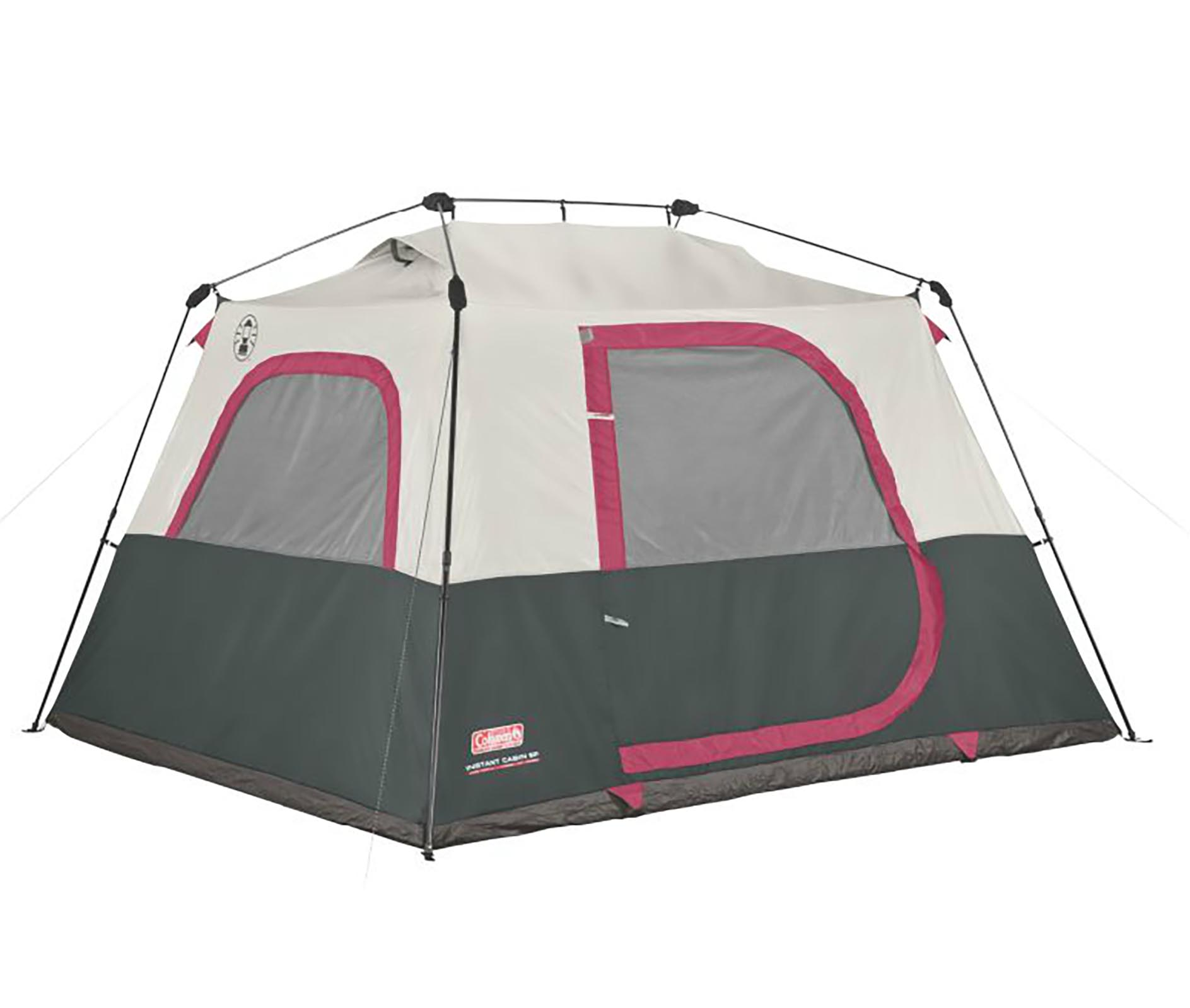 Coleman 6-Person Family Waterproof C&ing Instant Cabin Tent 10 x 9 x 6 Feet  sc 1 st  Walmart & Coleman 6-Person Family Waterproof Camping Instant Cabin Tent 10 x ...