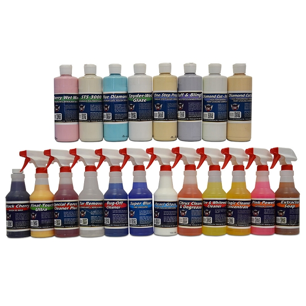 Detail King Auto Detailing Chemical And Polish Kit For Interior & Exterior (20)
