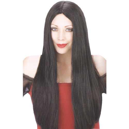 Black Witch Wig Adult Halloween Accessory