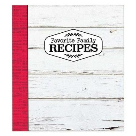 Brownlow Gifts Recipe Binder - Red & White Farmhouse (Diy Recipe Binder)