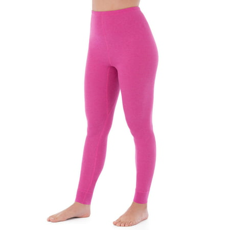 Fruit of the Loom Womens and Womens Plus Waffle Thermal Undewear Pant