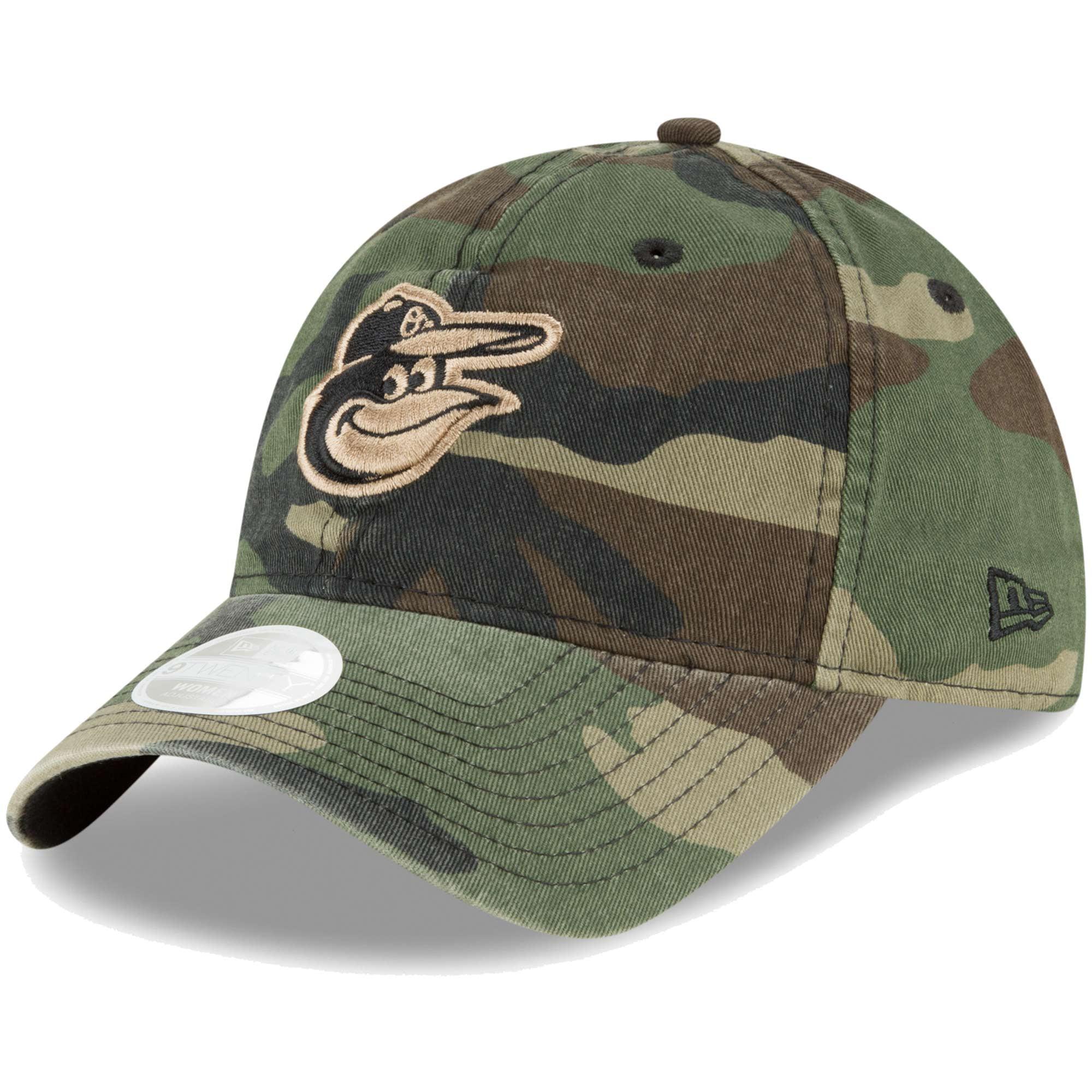 Baltimore Orioles New Era Women's Core Classic Twill 9TWENTY Adjustable Hat - Camo - OSFA