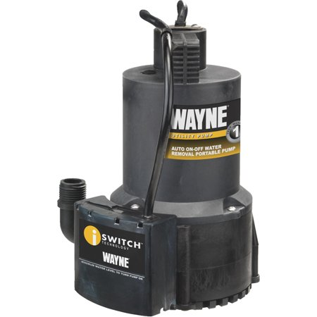 Wayne Submersible Utility Pump (Wayne Home Equipment Oil-Free Submersible Automatic Utility Pump)