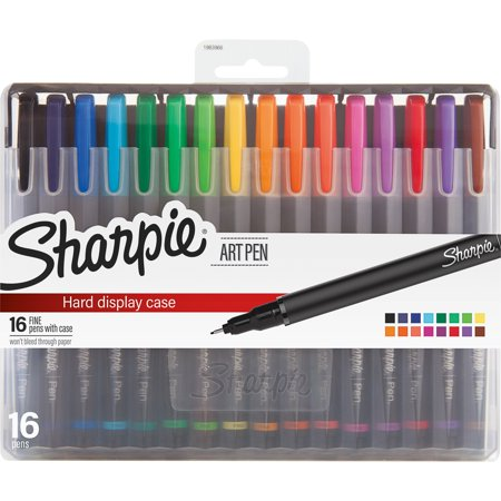 Sharpie, SAN1983966, Fine Point Art Pens, 16 / Pack