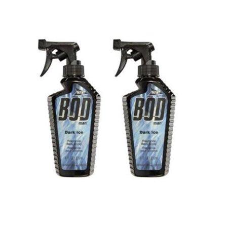 Bod Man Dark Ice Body Spray 8 oz (Body Ice)