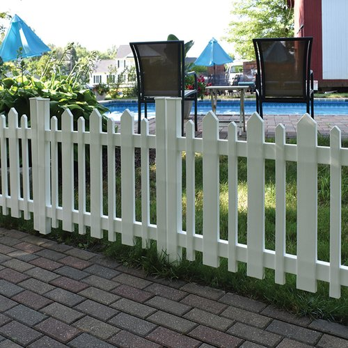 Xpanse Select Vinyl Railing 2.6 ft. x 3.2 ft. Picket Accent Fence