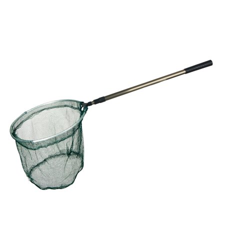 Net Extra Long Handle - Stainless Steel 1.9M Long Telescopic Handle Fish Landing Dip Net