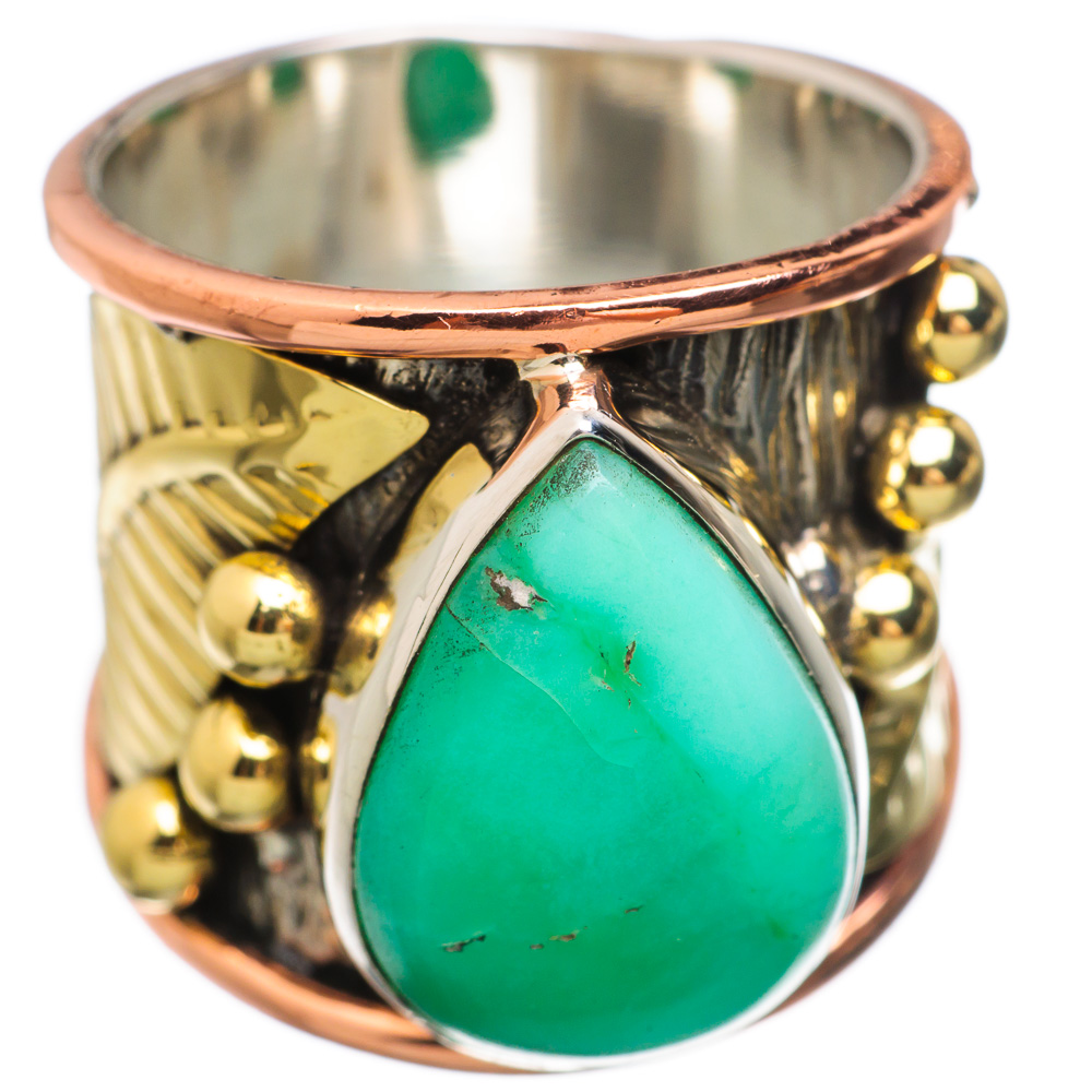 Ana Silver Co Chrysoprase 925 Sterling Silver Ring Size 6 RING833553 by Ana Silver Co.