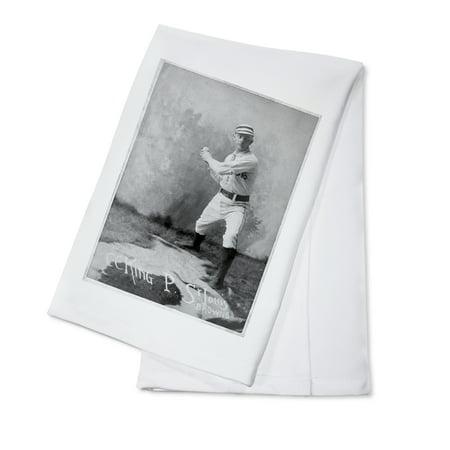 St. Louis Browns - C. C. King - Baseball Card (100% Cotton Kitchen Towel)