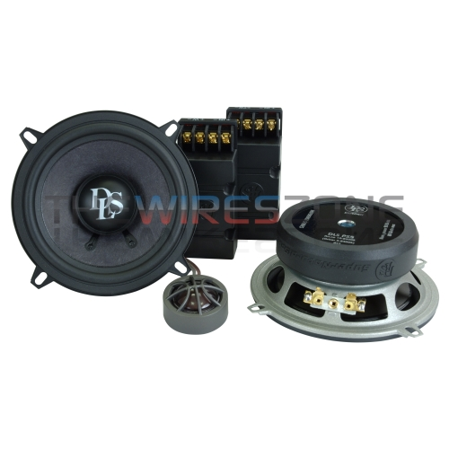 DLS RS5N Reference 2-Way 5.25' 80 Watt Component Car Audio Speaker System (pair)