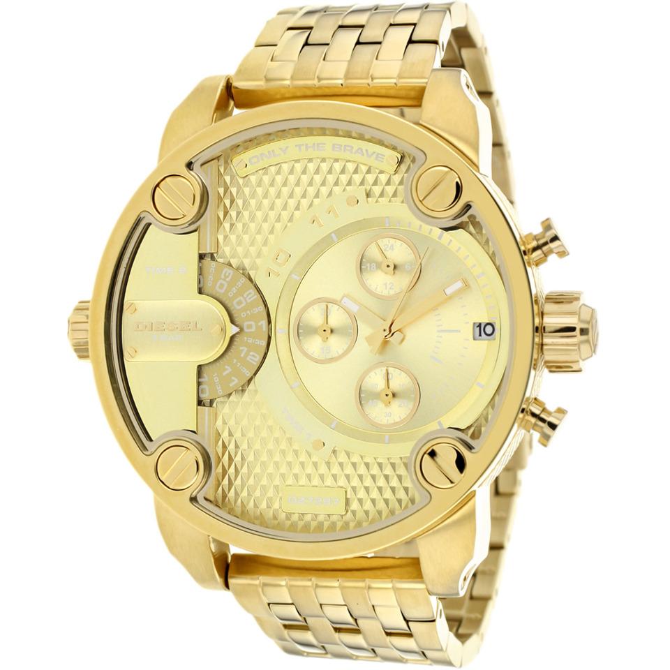 Men's Little Daddy DZ7287 Gold Stainless-Steel Quartz Fashion Watch