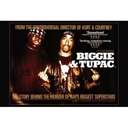 Biggie and Tupac Movie Poster (27 x 40)