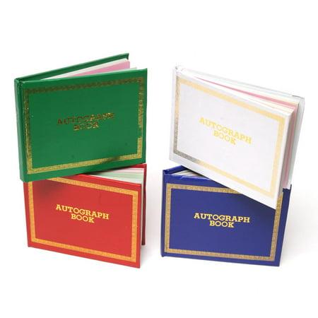 Personalized Autograph Book (Economy Autograph Book)