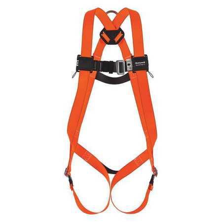 Full Body Harness, L/XL, 400 lb. HONEYWELL MILLER T2000/UAK