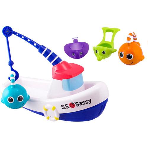 Sassy Garanimals -  Fishing Boats Bath Toys