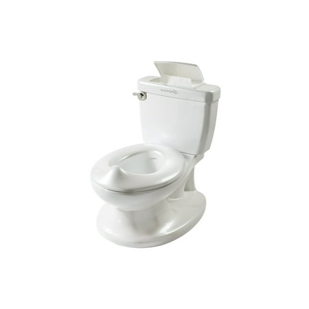 Summer Infant My Size Potty - Training Toilet for Toddler Boys & Girls - with Flushing Sounds and Wipe Dispenser, White