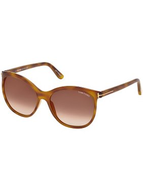 af67d4e05f06 Product Image sunglasses tom ford ft 0568 geraldine- 02 53g blonde havana /  brown mirror