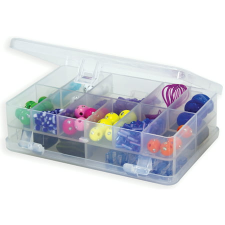 Creative Options Micro Double Utility Box 14 Compartments-4.375