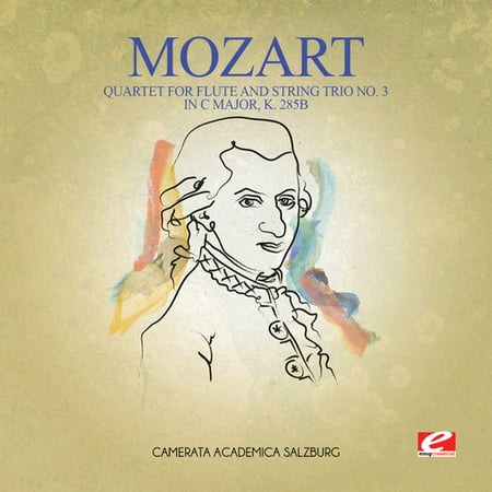 Mozart - Quartet for Flute & String Trio No. 3 in C Major