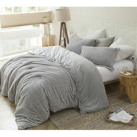 Coma Inducer Oversized Comforter - Arctic Fox - Tundra Gray - (Cotton Twill Comforter)