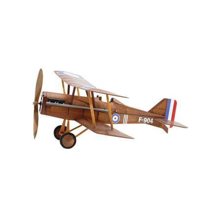 Vintage Model Co. British RAF SE5A Balsa Model Airplane Kit -Rubber Band Powered - Architecture Model Kits