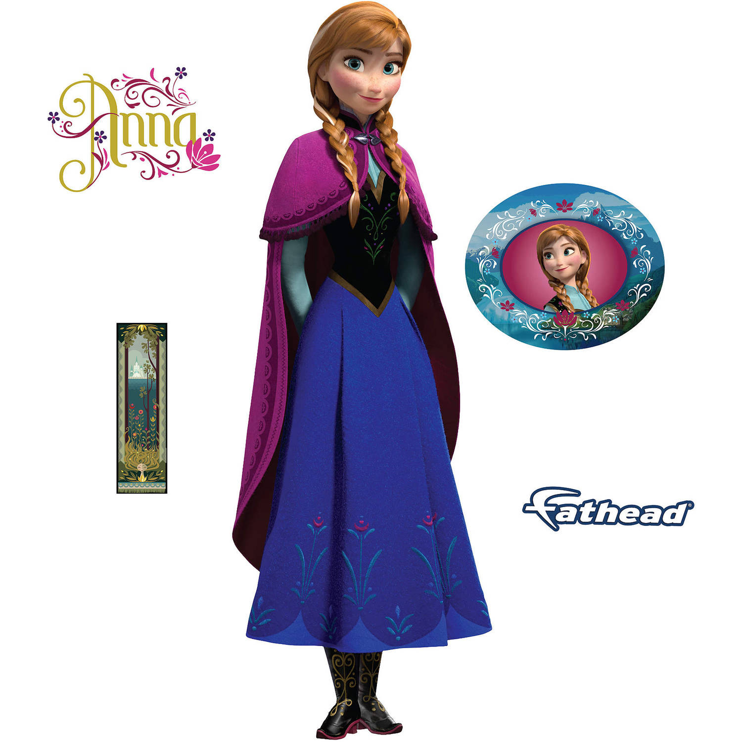Fathead Disney Frozen Anna Teammate Player
