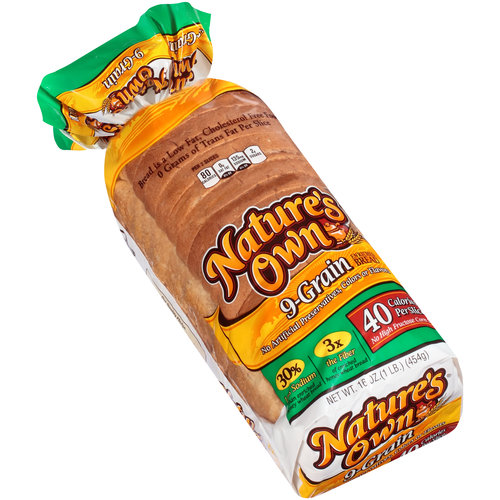 Nature's Own 9-Grain Enriched Bread, 16 oz