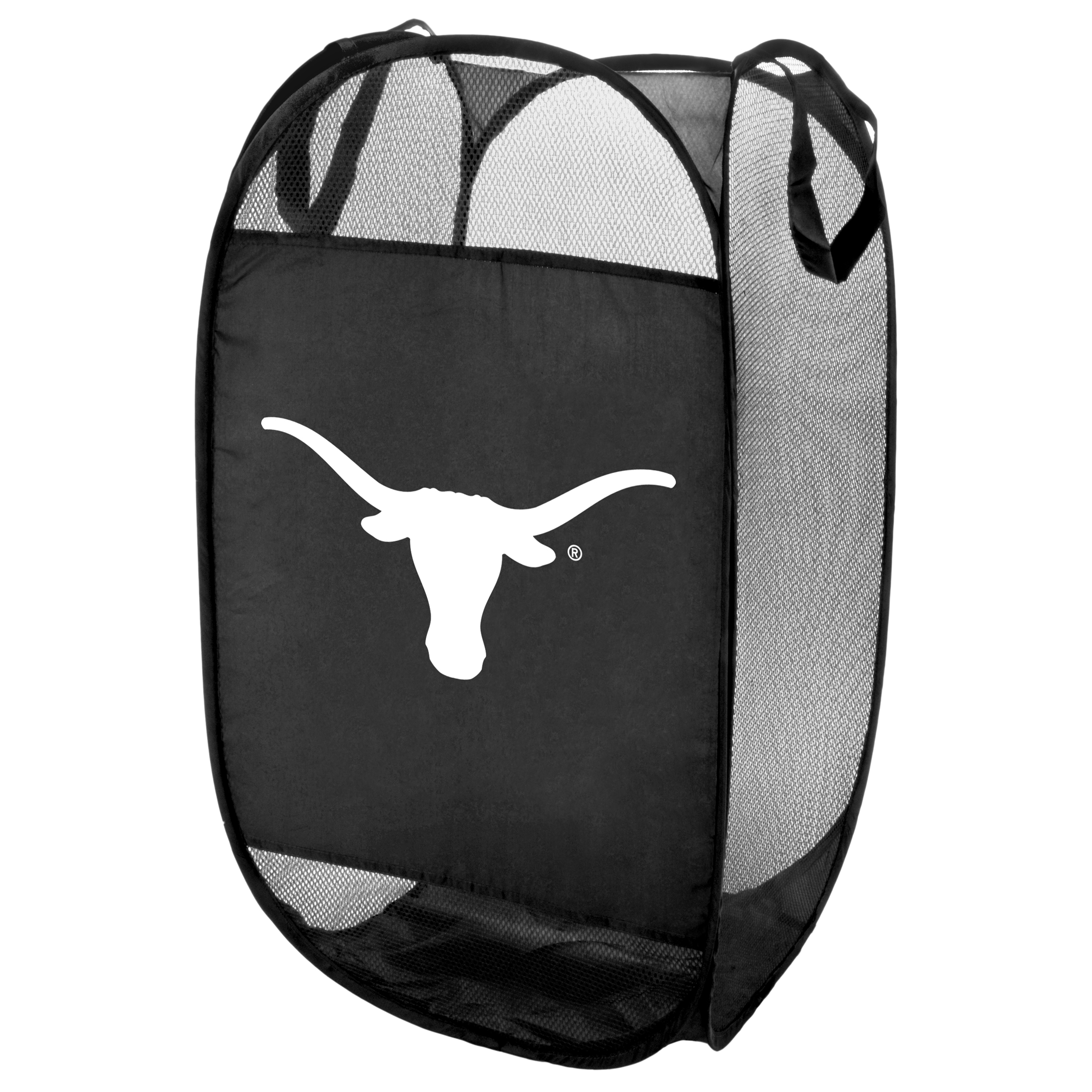 Texas Longhorns Official NCAA Laundry Hamper Fold Up Flip Open by Forever Collectibles 069836