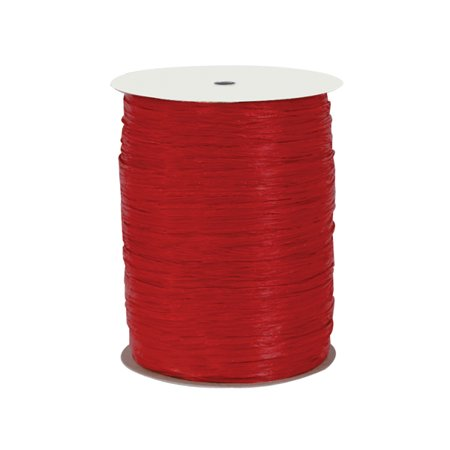 Paper Red gift packaging Raffia Ribbon