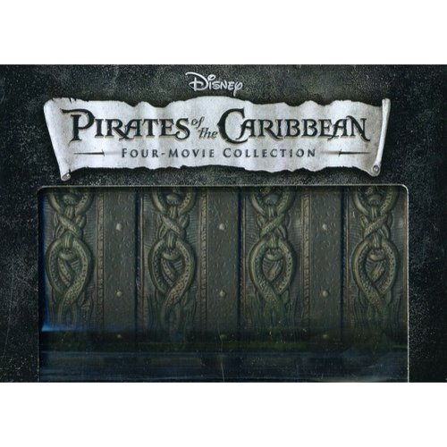 Pirates Of The Caribbean: The Curse Of The Black Pearl / Dead Man's Chest / At World's End / On Stranger Tides (Blu-ray + DVD)