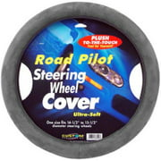 Custom Accessories 38550 Road Pilot Grey Ultra Soft Steering Wheel Cover