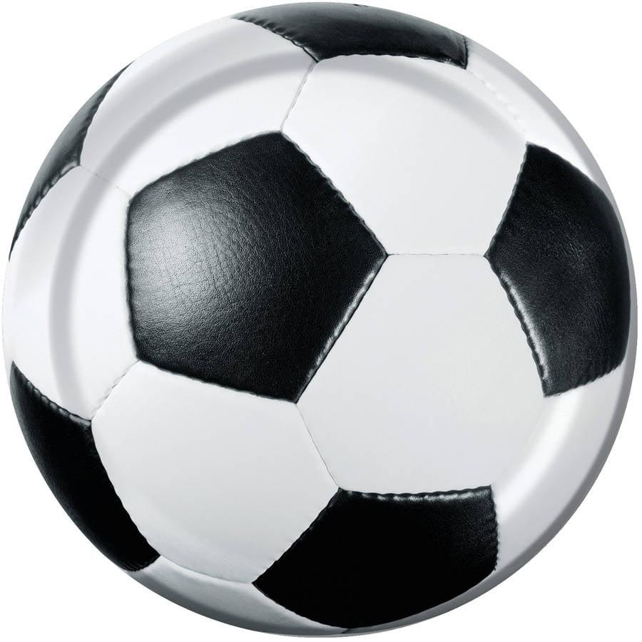 Sports Fanatic Soccer Dessert Plates, 8pk