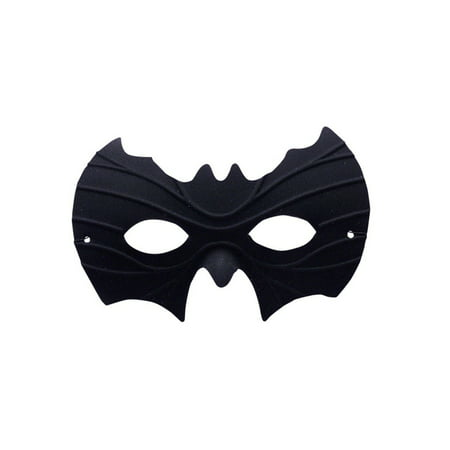 Halloween Half Mask - Bat - Half Scary Half Normal Halloween Makeup