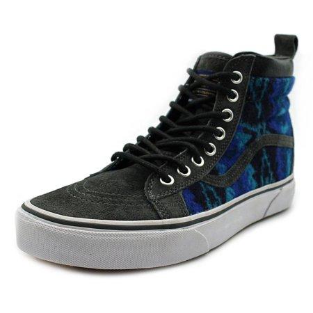 54f3265333 Vans - Vans Sk8-Hi MTE Men Round Toe Suede Blue Sneakers - Walmart.com