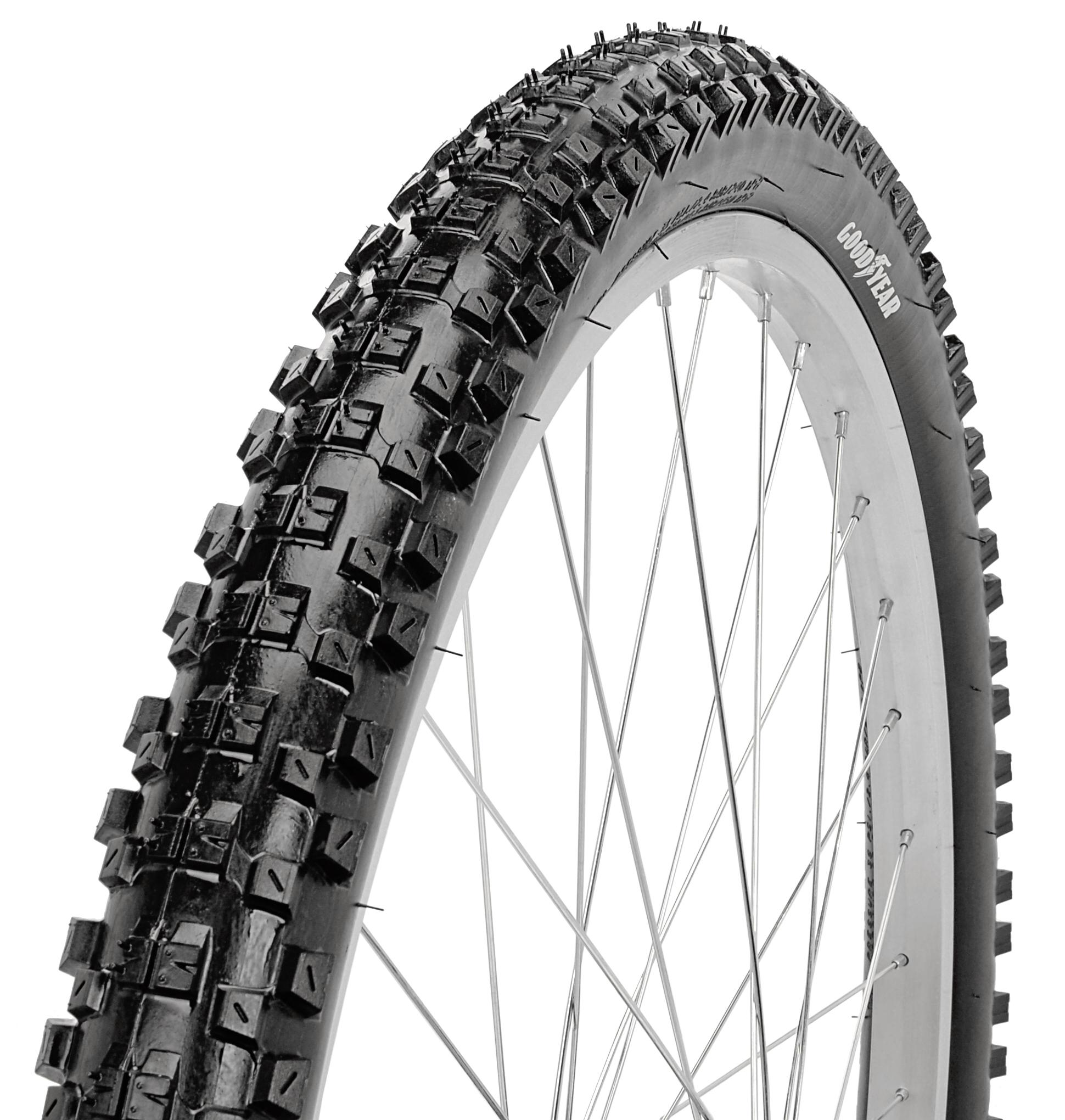 Goodyear 26 Mountain Bike Tire Black Walmart Com