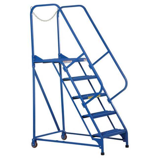 Vestil LAD-MM-5-G 5 Step Grip Strut Maintenance Ladder