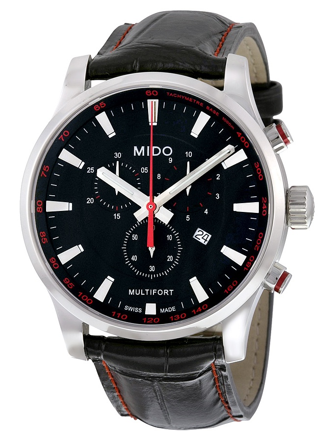 Multifort Chronograph Black Dial Mens Watch M0054171605120