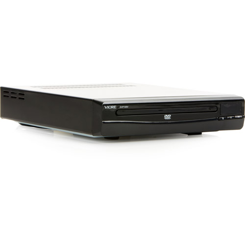 Viore DV12B DVD Player - Includes 12 of the Most Popular Children's Animation Movies of All Time on 2 Discs