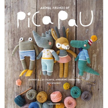 Friends Animal - Animal Friends of Pica Pau : Gather All 20 Colorful Amigurumi Animal Characters