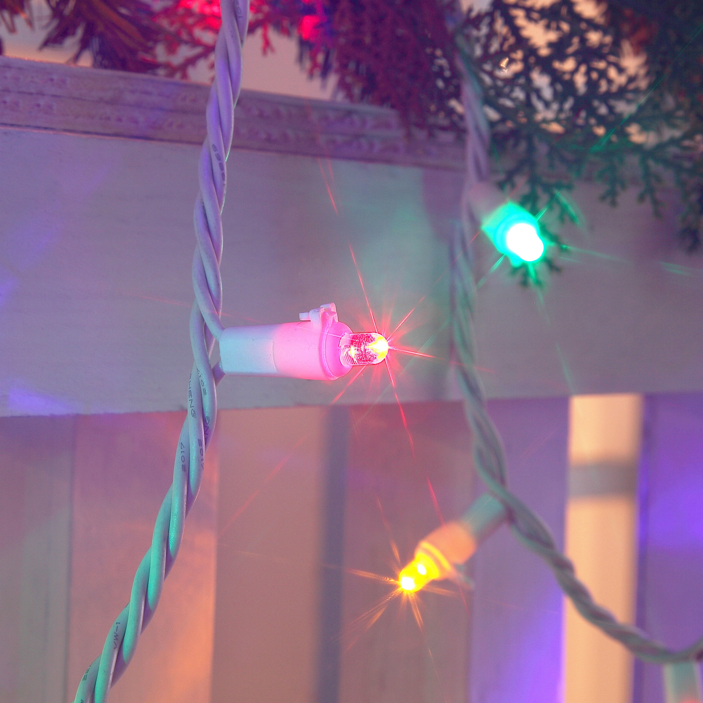 Holiday Time Indoor & Outdoor LED Multicolor Mini Lights, 54', 240 Count