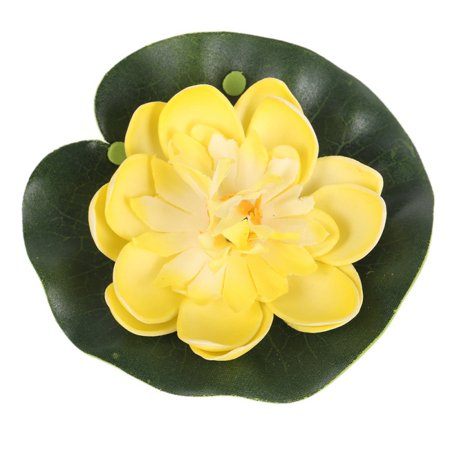 Home Artificia Lotus Flower Water Lily Wedding Pool Garden Decoration 5Pcs - Pool Decorations