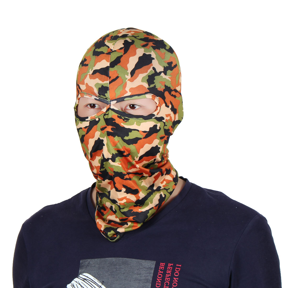 Full Coverage Face Mask Activities Neck Protector Hood Helmet Balaclava Colorful by