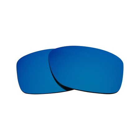 Replacement Lenses Compatible with OAKLEY JUPITER SQUARED Ice Blue Mirror ()