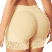 FOCUSNORM Butt Lifter Panty Fake Buttock Body Shaper Padded Underwear for Lady