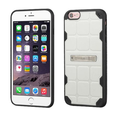 Insten Hard TPU Case w/stand For Apple iPhone 6 Plus/6s Plus - White/Black - image 3 of 3
