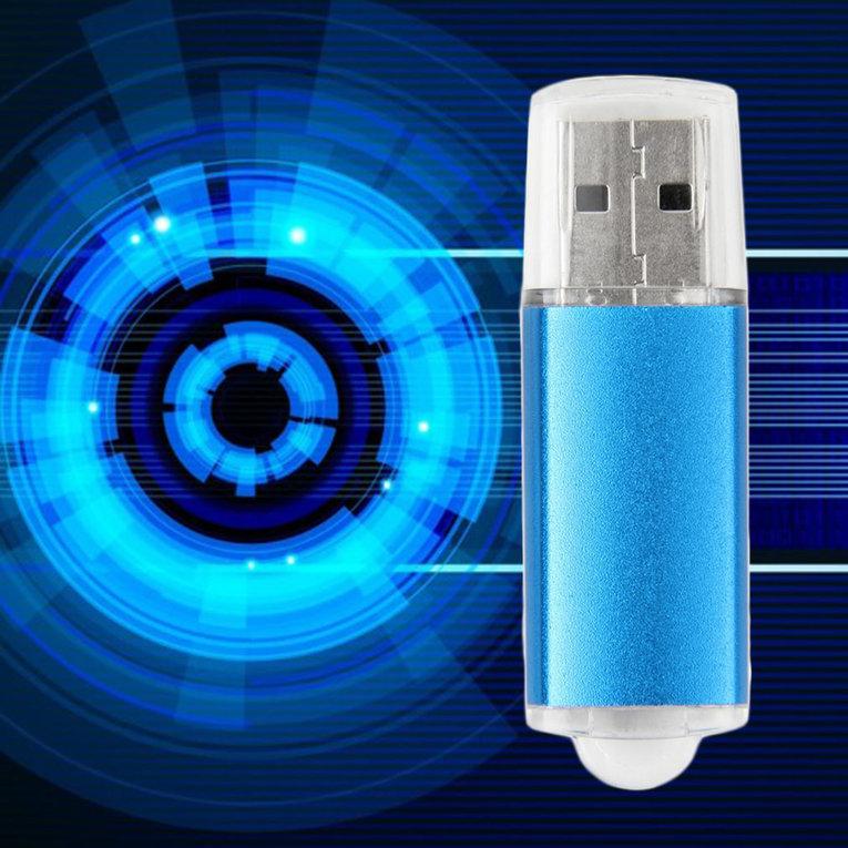 32 GB 32GB USB 2.0 Mini Thumb Memory Stick Pen Flash Drive Blue