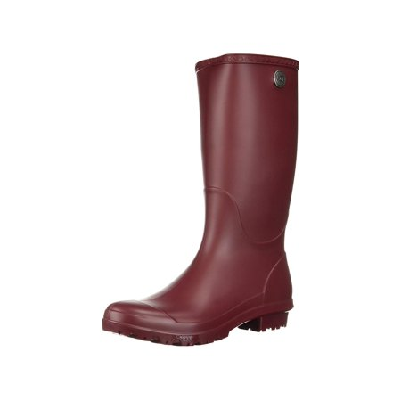 8e68ce43ae3 Womens UGG Shelby Matte Rain Boots, Garnet