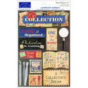 Collecting Cardstock Stickers 5.5 Inch X 9 Inch-Stamp